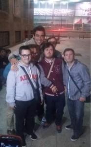 Chicos con Pablo Chiapella