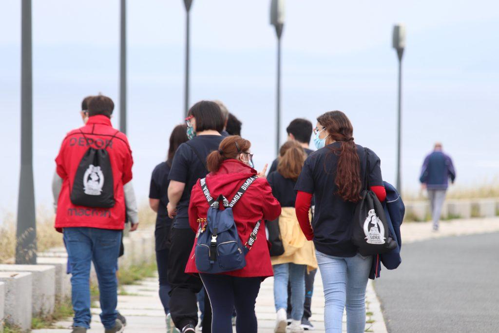 Participación de Down Coruña en la VI Andaina Solidaria de Congalsa