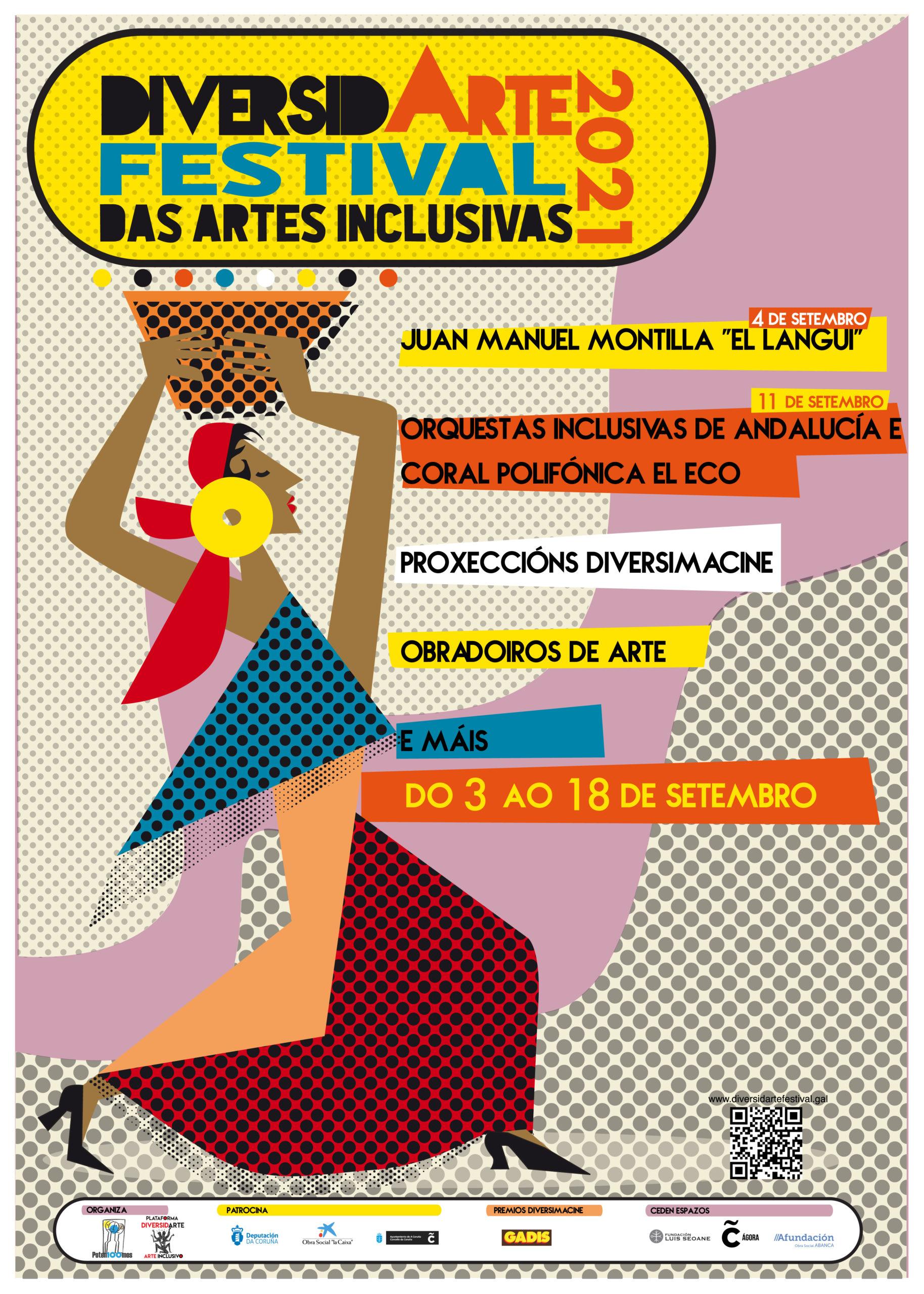 Cartel Festival Artes Inclusivas