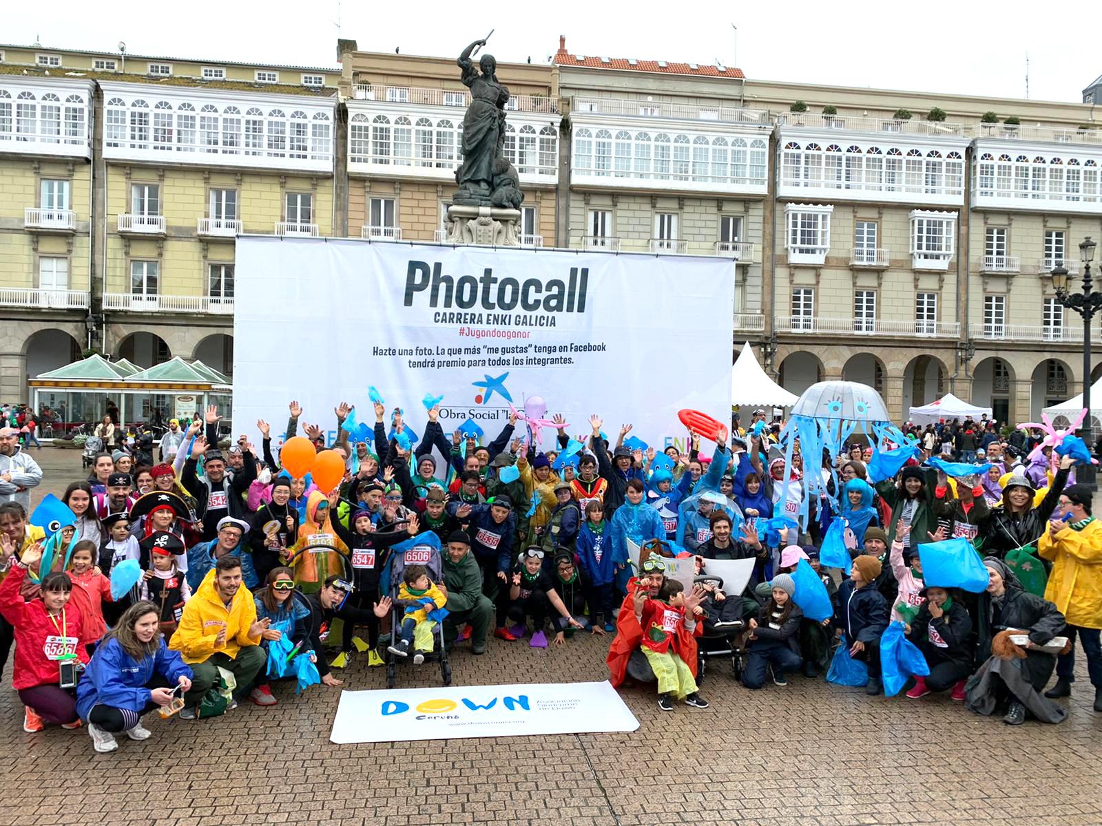 Down Coruña carrera ENKI 2019